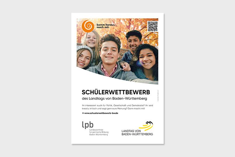 Plakat zum Schülerwettbewerb