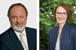MdL Norbert Beck (CDU) und MdL Sandra Boser (Grüne)